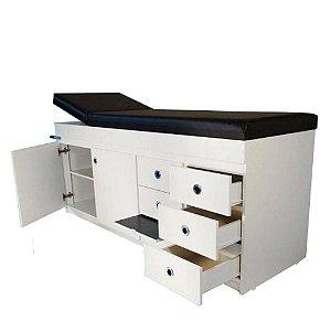 Mesa para Massagem Completa com Gabinete