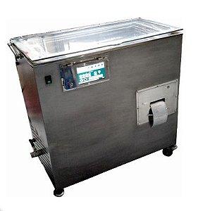Lavadora Ultrassonica 40L com pressão em Inox