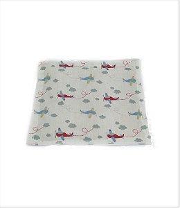 Bolsa Térmica de Sementes para Bebê Aviãozinho 16 x 15Cm