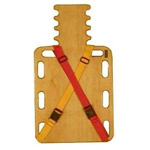 Maca de Resgate - Spine Board Curto