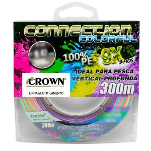 LINHA CROWN CONNECTION 9X COLORFUL