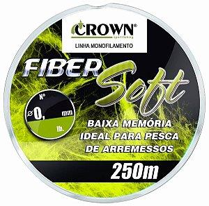 LINHA CROWN FIBER SOFT YELLOW 250 METROS