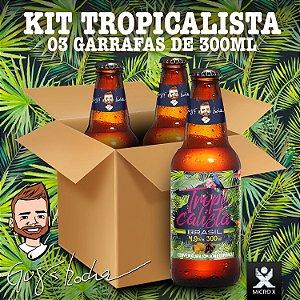 Kit Tropicalista Brasil Amazônia - 3 garrafas de 300ml