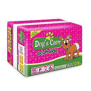 Fralda Higiênica Dog's Care Ecofralda para Cães Fêmeas 12 Unidades