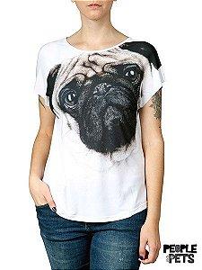 Camiseta Evasê Pug