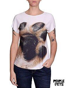Camiseta Evasê Pata