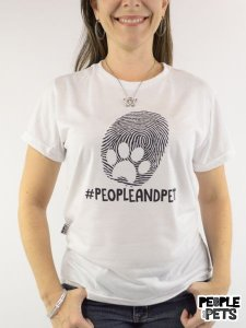 Camiseta #PeopleAndPets People