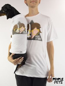 Camiseta You and Me Pet