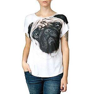 Camiseta Evase Use Natureza Pug Tamanho M