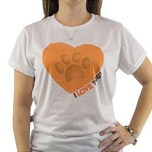 Camiseta Estampa Coração