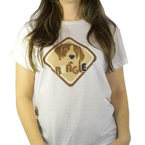 Camiseta Estampa Beagle