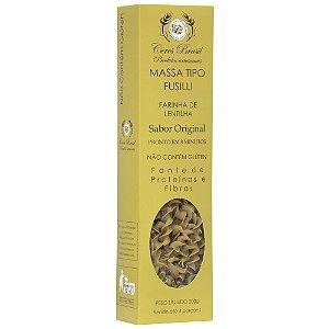 Macarrão tipo Fusilli de farinha de lentilha verde Original