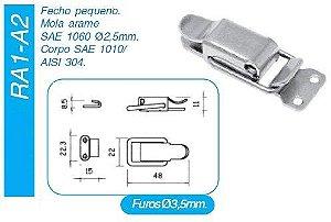 Fecho rápido RA1/A2 INOX (unitário)