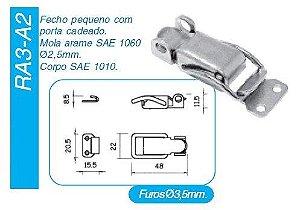 Fecho Rápido RA3/A2 - 10 pçs