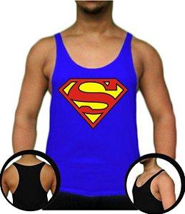 Regata Cavada Tank Top Superman (médio cavada)