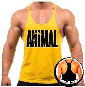 Camiseta regata cavada Animal
