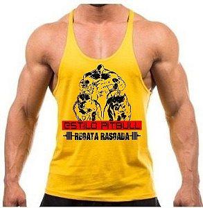 Camiseta regata cavada Estilo pitbull