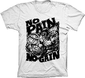 Camiseta No Pain No Gain Marombeiro