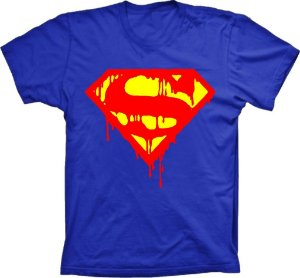 Camiseta Superman escorrido