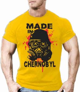 Camiseta Made in Chernobyl
