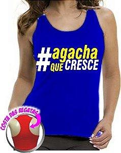 Camiseta Regata Feminina Agacha que Cresce