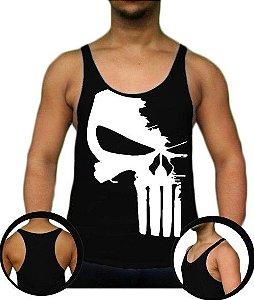 Camiseta Regata Tank Top Justiceiro Style