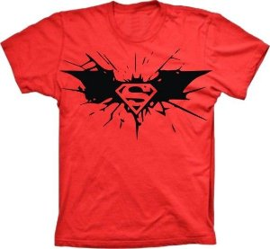 Camiseta Batman vs Superman 2