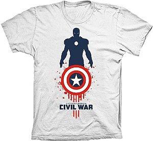 Camiseta Capitão América Guerra Civil