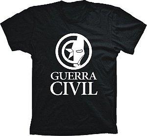 Camiseta Capitão América Guerra Civil Logo