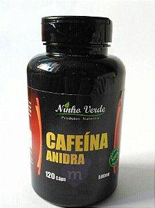 Cafeína Anidra 500mg 120 cáps - Ninho Verde