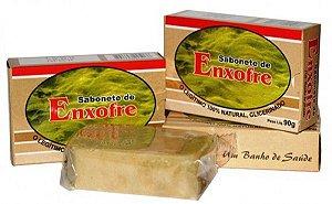 Sabonete de Enxofre 90g - Kit com 3 unidades
