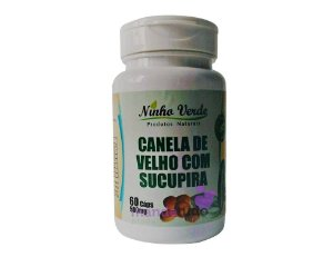 Canela de Velho com Sucupira 500 mg 60 cáps - Ninho Verde