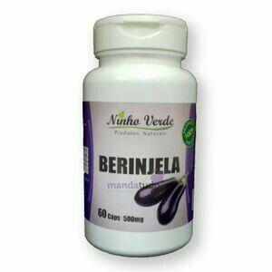 Berinjela 500 mg 60 cápsulas - Ninho Verde
