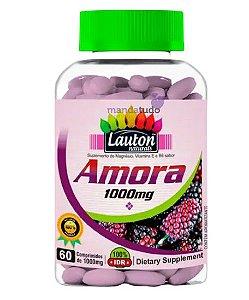 Amora Suplemento Menopausa Osteoporose 1000mg 60 comprimidos - Lauton
