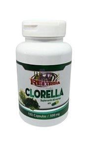 Clorella 500 mg 120 caps - Rei Terra