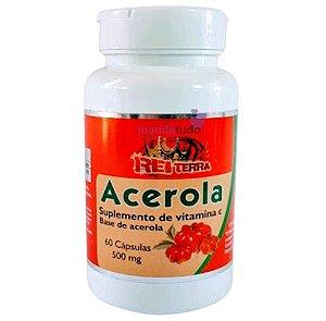 Acerola 500 mg 60 caps - Rei Terra