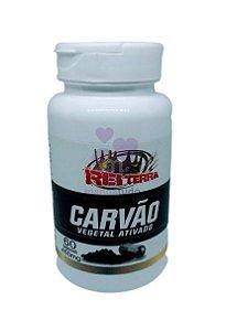 Carvão Vegetal 500 mg 60 cáps - Rei Terra
