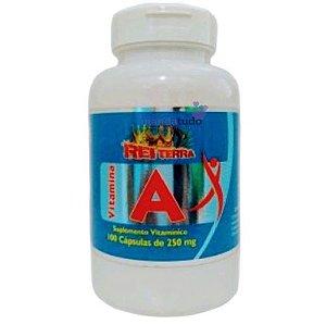 Vitamina A 250 mg 100 cáps - Rei Terra