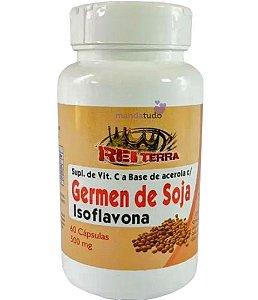 Isoflavona - Acelora com Germen de Soja 60 cáps 500 mg - Rei Terra