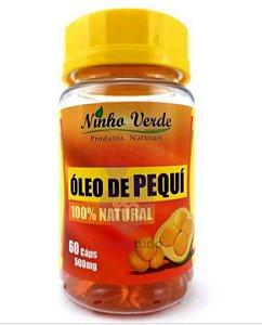 Óleo de Pequi 100% Natural 500 mg 60 cáps - Ninho Verde
