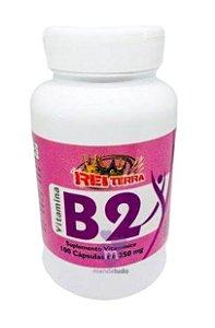 Vitamina B2 250 mg 100 caps - Rei Terra