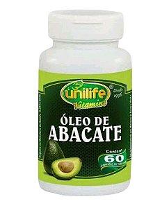 Óleo de Abacate 1200mg 60 caps - Unilife