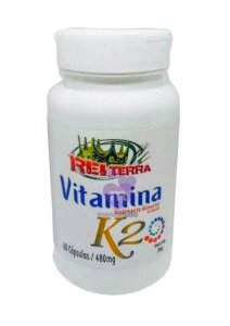 Vitamina K2 480 mg 60 caps - Rei Terra
