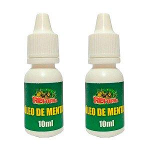 Óleo de Menta 10 ml Kit com 2 - Rei Terra