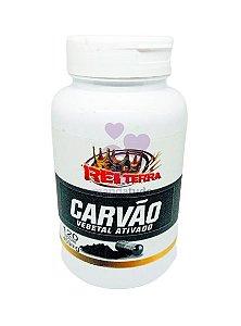 Carvão Vegetal 450 mg 120 cáps - Rei Terra