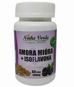 Amora Miura com Isoflavona 500 mg 60 caps - Ninho Verde