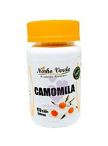 Camomila 500 mg 60 caps - Ninho Verde