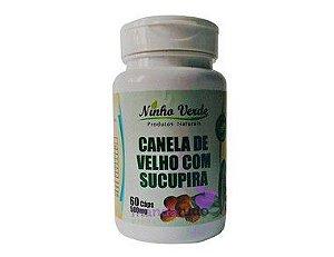 Canela de Velho com Sucupira 500 mg 60 cáps - Ninho Verde Melhor Preço