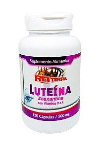 Luteína Zeaxantina 500 mg 120 caps - Rei Terra