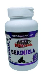 Berinjela VEGAN 500 mg 60 cáps - Rei Terra